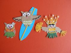 Hula girl, surfer,  Tahitian dancer.    JR  Stampin' Up!