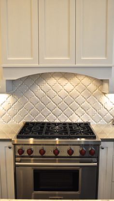 25 Why White Kitchen Interior is Still ~ My Dream Home Kitchen Redo, Kitchen Backsplash, Kitchen Remodel, Kitchen Design, Arabesque Tile Backsplash, White Kitchen Interior, Updated Kitchen, The Ranch, Beautiful Kitchens