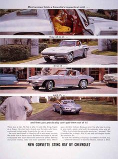 126 best chevrolet corvette 1963 1974 images chevy vintage rh pinterest com