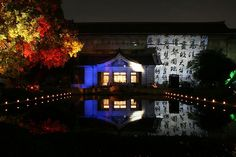 light up special event at Tokyo National Museum #tokyo #japan