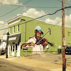 Better block mural in Church Hill by local artist Ed Trask, Richmond VA