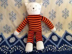 Stuffed cat stuffed Animal plush cat   eco friendly by CutenSoft