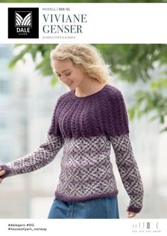 Ravelry: Vivane genser pattern by Trine Lise Høyseth Knitting Designs, Knitting Projects, Ravelry, My Design, Men Sweater, Turtle Neck, Pullover, Pattern, Sweaters