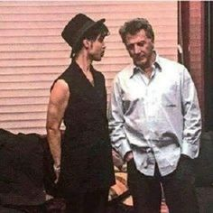 """Prince and actor Dustin Hoffman, pic from photo book """"Prince A Private View"""" by photographer Afshin Shahidi Prince Images, Pictures Of Prince, Minnesota, Hip Hop, The Artist Prince, Dustin Hoffman, Paisley Park, King Of Music, Roger Nelson"""