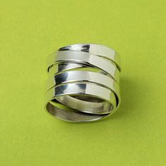 Five Overlaps Ring now featured on Fab. (Paz Collective $49)