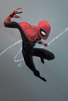"westcoastavengers: "" Spider-Man | Corey Smith """