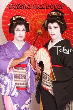 Geisha makeover Pinterest for men