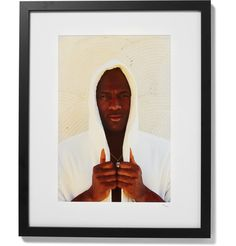 "Framed Michael Jordan, Rare Air Giclée Print, 16"" x 20"" | MR PORTER"