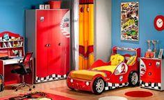 Cars: Dormitorio tematico de Rayo Mcqueen | Dormitorios Juveniles: Habitaciones infantiles fotos e imagenes 2013