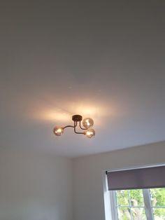 Light on Black Curves, Black Ceiling, Dream Apartment, Ceiling Lighting, Light Fittings, Contemporary, Modern, Home Interior Design, Color Change