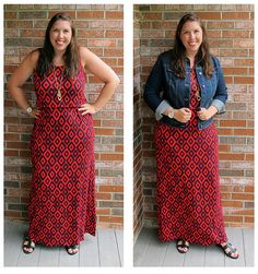 Stitch Fix Review by Pocketful of Joules! Market and Spruce Brian Maxi Dress - Pocketfulofjoules.com