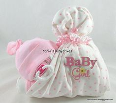Stork Bundle Baby Sleeping diaper baby Baby by MsCarlasBabyCakes
