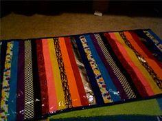 Duck tape rug