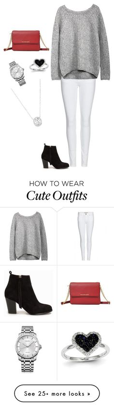 """""""Cute outfit"""" by annadavis123 on Polyvore featuring Burberry, Nly Shoes, Coach, Kevin Jewelers and Calvin Klein"""