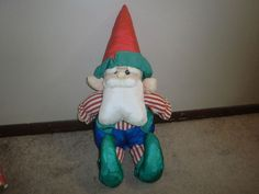 "15"" Santa Claus Nylon Puffalump Plush #unknown"