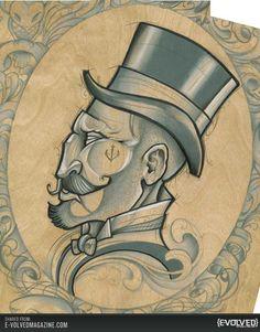 tattoo art by dave koenig - Google Search