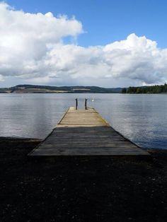Hamar and lake Mjøsa. Biggest lake in Norway