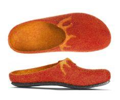 Felt Shoes, Wool Felt, Lana, Slippers, Fashion, Interiors, Inside Shoes, Fringes, Kids