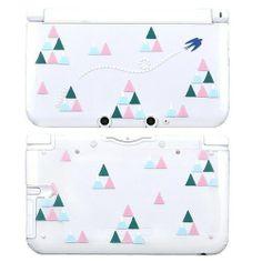 """New"" Nintendo 3DS ll XL Wasabi Series Clear Hard Cover Case Sankaku Fuji | eBay"