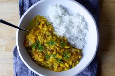 everyday yellow dal – smitten kitchen With tangy cabbage salad Veggie Recipes, Indian Food Recipes, Cooking Recipes, Healthy Recipes, Ethnic Recipes, Veggie Meals, Indian Foods, Curry Recipes, Meatless Recipes