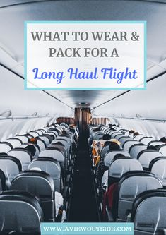 Everything you need to know in order to survive and enjoy a long haul flight. From what to wear on a long haul flight, what to pack for a long haul flight and tips and tricks. Packing Tips For Travel, Travel Advice, Travel Guides, Packing Lists, Vacation Packing, Cruise Vacation, Disney Cruise, Travel Goals, Vacation Destinations