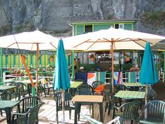 Sorrento - swim deck cafe - Hotel Bellevue Syrene