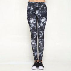 leggings, women fashion sky printed