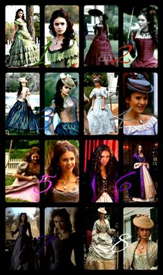 All of Katherine Pierces outfits