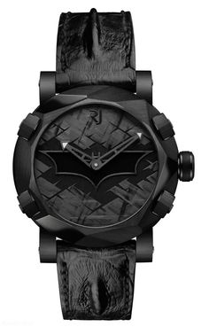 Romain Jerome Batman DNA watch black