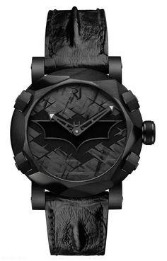 Romain Jerome Batman DNA watch black | Raddest Men's Fashion Looks On The Internet: http://www.raddestlooks.org