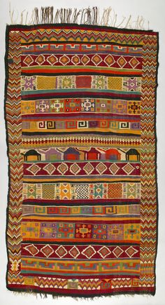 Rug, Tunisia, Gafsa, mid 20th century, from the Opekar / Webster Collection, T94.2216 Textile Museum of Canada. - fQaroundtown: January 2008