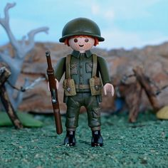Playmobil-Custom-Soldado-britanico-British-soldier-WW2