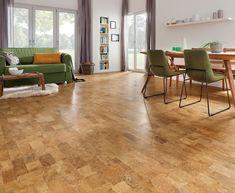527381 Haro Korkboden Corkett Design Ronda Natur Lackiert. Kork Bodenbelag  ...