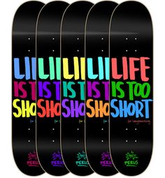 10 awe-inspiring skateboard designs http://www.creativebloq.com/graphic-design/skateboard-graphics-3132166