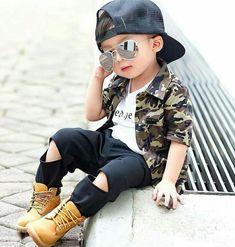 Cute kid.