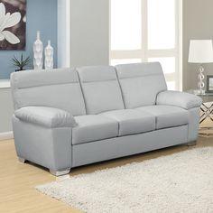 Nice Grey Leather Sofas , Elegant Grey Leather Sofas 21 For Sofa Room Ideas  With Grey