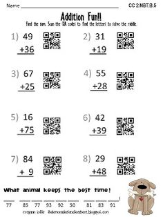 Qr codes are a perfect way to get students excited about practicing the lemonade stand qr codes fandeluxe Gallery