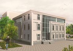 PUBLIC BUILDING IN HISTORIC CENTER