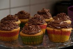 Cupcakes mit Nutellafrosting *