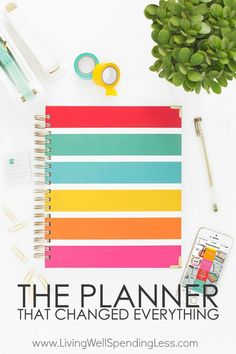 "Still wondering if the Living Well Planner is right for you? Don't miss this super honest review from a longtime self-proclaimed planner ""junkie""!  Rosemarie Groner (AKA @TheBusyBudgeter) shares what she loves, what she doesn't, and exactly how she uses the Living Well Planner to get more done. via @Living Well Spending Less"