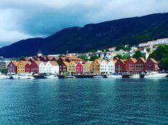 The Bryggen - Bergen, Hordaland, Norway July 2016