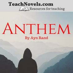 This Anthem unit plan gives you an organized structure to so that you can focus on engaging instruction. Includes Anthem lesson plans alligned to the common core. Anthem Ayn Rand, 10th Grade English, Teachers Toolbox, Unit Plan, Student Engagement, Lesson Plans, Literature, The Unit, Teaching