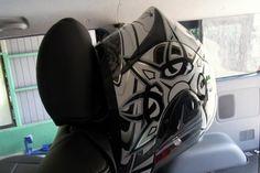 Helmet stand for Transporter