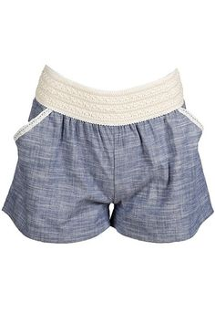 Sweet Southern Sass Boutique - CHAMBRAY DENIM SHORTS, $24.99 (http://www.sweetsouthernsassboutique.net/chambray-denim-shorts/)