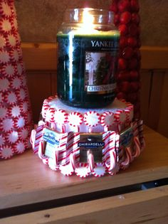 Christmas candy crafts candy crafts and wreaths on pinterest