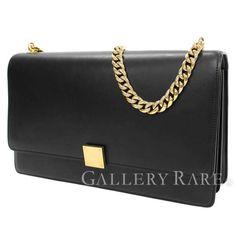 セリーヌ チェーンショルダーバッグ カーフ ブラック 170803MJA CELINE バッグ Shoulder Bag, Bags, Fashion, Handbags, Moda, Fashion Styles, Shoulder Bags, Fashion Illustrations, Bag
