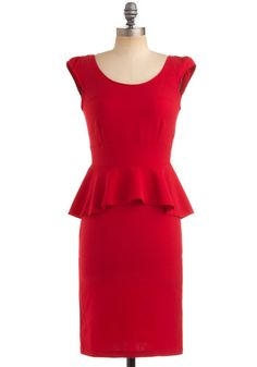 Mod Cloth Red-y for Anything Dress