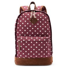 Mudd® Tiffany Polka-Dot Dome Backpack | Red Dot