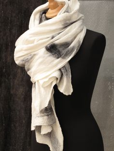 from  SLOWLAB FIRENZE felt scarves collection