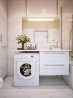 "Résultat de recherche d'images pour ""how to disguise a washing machine in the bathroom"""